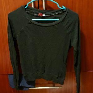 H&M black thin sweater
